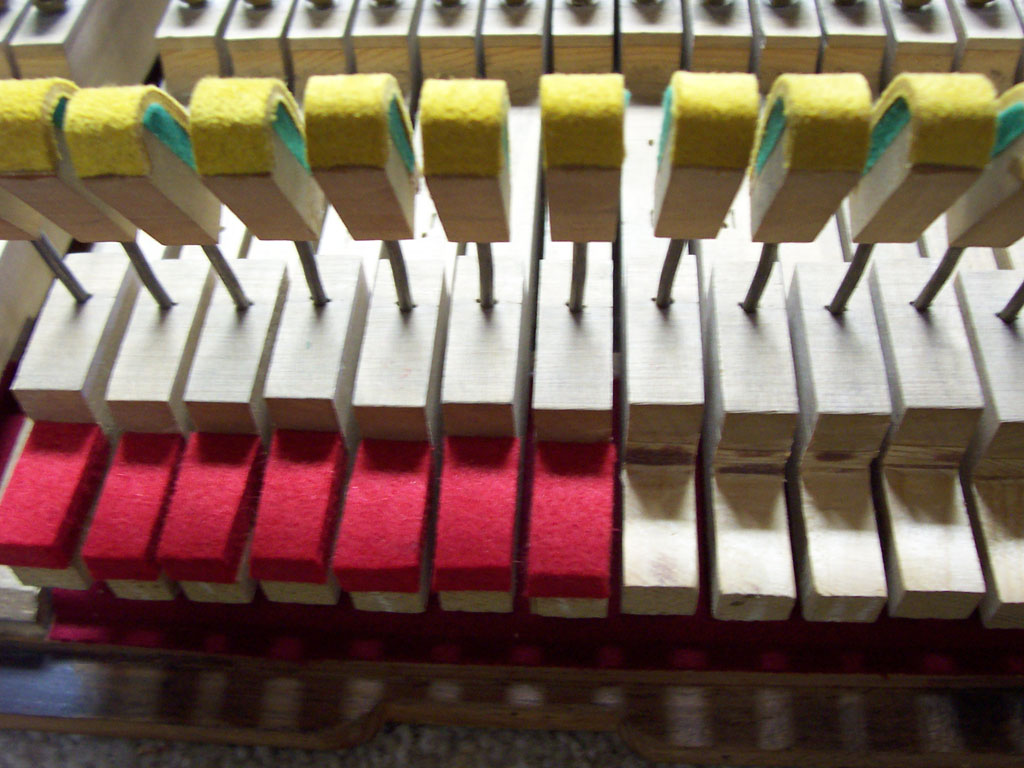 Piano refelting process - step 10