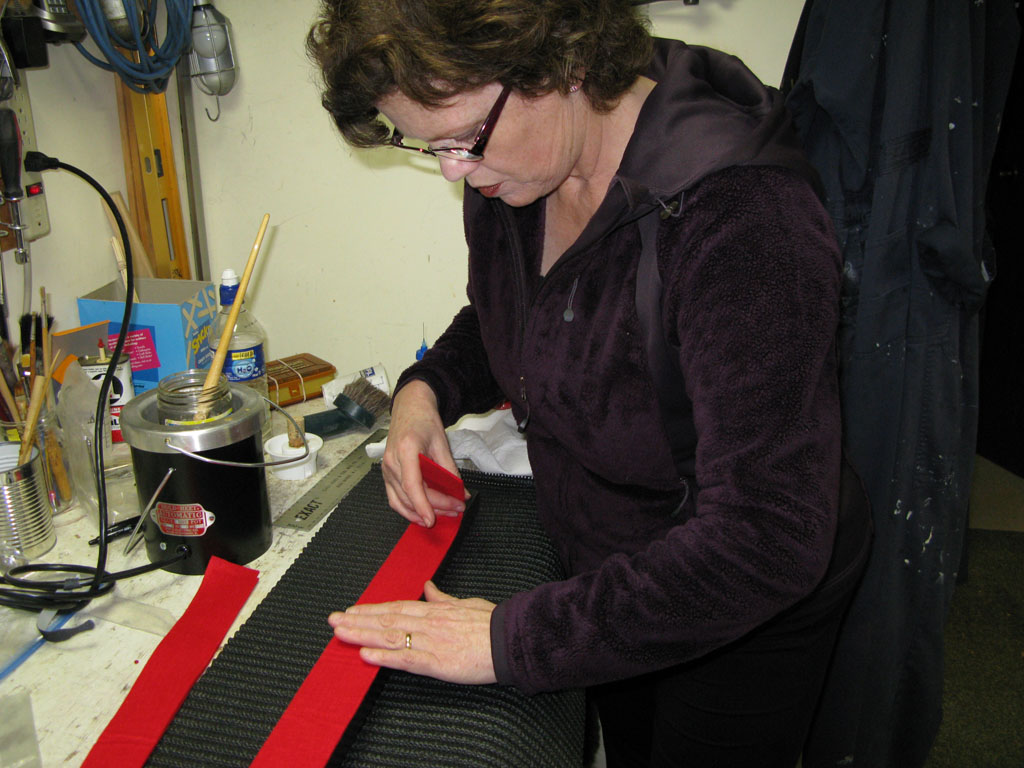 Piano refelting process - step 12